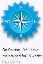 LoseIt - Badge - On Course
